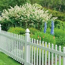 gatehouse arborley 3 ft x 8 ft white gothic picket vinyl fence