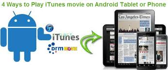 itunes on android android itunes 4 ways to play itunes on android device hivimoore