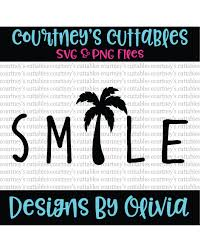 palm tree svg smile svg palm tree svg summer svg smile png from