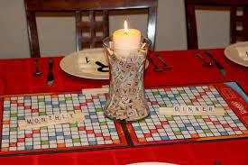 invite and delight a scrabble party