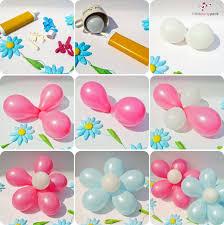 flowers and balloons make beautiful diy balloon flower decoration beesdiy
