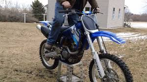 how to start 01 02 yz250f youtube