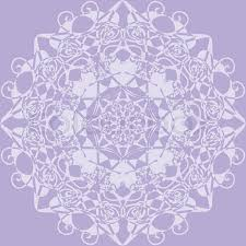 lilac color kaleidoscope rosette lilac color use as wallpaper pattern fill or