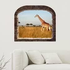 stickers trompe oeil mural sticker muraux trompe l u0027oeil sticker trompe l u0027oeil afrique