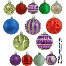 home accents holiday shatter resistant assorted ornament 100