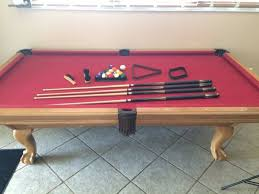 leisure bay pool table 8ft 3 pc slate leisure bay pool table general in ta fl