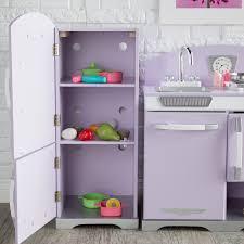 Kidkraft Kitchens Kidkraft 2 Piece Lavender Retro Kitchen And Refrigerator 53290