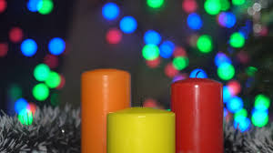 light up christmas candles christmas candle light bokeh lights stock video footage videoblocks