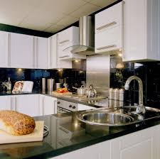 granite countertop mocha shaker kitchen cabinets valve for