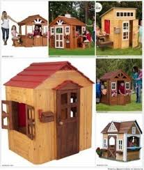 Wooden Backyard Playhouse Playhouses For Sale Foter
