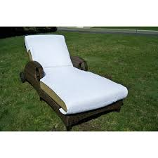 Chaise Lounge Cover with Authentic Turkish Cotton Towel Cover For Standard Size Chaise