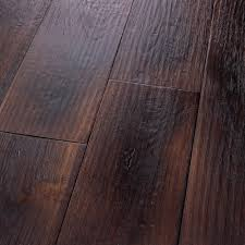 American Black Walnut Laminate Flooring Hand Scraped Hardwood Floors