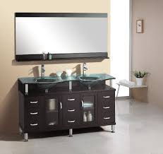 bathroom gray vanity distressed cabinets french wc double idolza