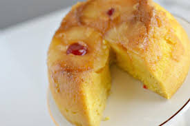 instant pot gluten free pineapple upside down cake