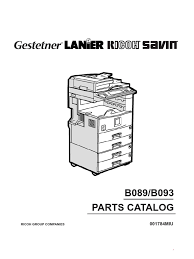 ricoh parts manual af2022 2027