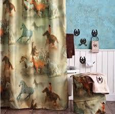 Western Bathroom Shower Curtains Using Western Shower Curtains To Bring Style Bathroom