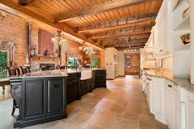 black kitchen cabinets in log cabin log cabin kitchen howell new jersey by design line kitchens