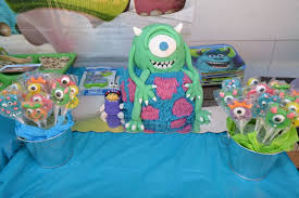 Monster Inc Baby Shower Decorations Monsters Inc Birthday Party Ideas
