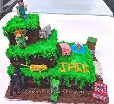 the 25 best easy minecraft cake ideas on pinterest cake