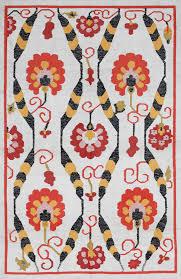 Modern Ikat Rug Floors Rugs Rugsville Ikat Ivory Bamboo Silk Ikat Rug