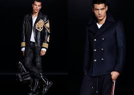 h u0026m balmain balmaination collection lookbook mens u2013 bagaholicboy