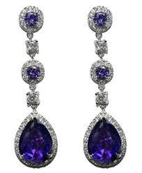 Cubic Zirconia Chandelier Earrings Cz Chandelier Earrings Beloved Sparkles