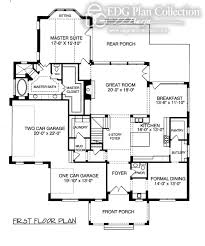 2 Story Great Room Floor Plans by Camden Edg Plan Collection