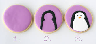 Easter Egg Decorating Penguin by Pink And Purple Penguin Cookies U2013 Glorious Treats
