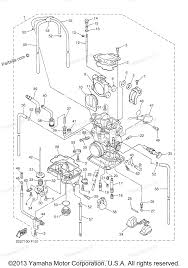 yamaha motorcycle parts 2007 yz250f yz250fw carburetor diagram