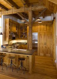 Kitchen Bar Cabinet Ideas Rustic Style Kitchen Bar Outofhome
