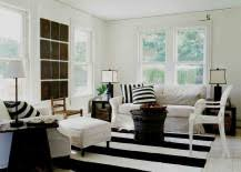 rug under coffee table bold and glamorous how to style around a black coffee table