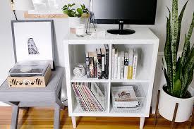 Ikea Cube Shelving by 3 Ways To Style And Use Ikea U0027s Kallax Expedit Shelf The Everygirl