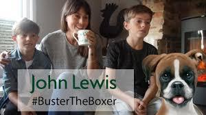boxer dog xmas john lewis christmas ad buster the boxer dog blogger reaction