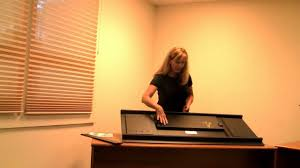 anderlyn desk how to assemble video youtube