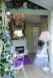 shabby chic romantic she shed garden she sheds pinterest