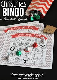 printable christmas bingo cards pictures printable christmas bingo game in english and spanish christmas