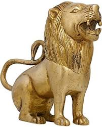 lion figurine find the best deals on handmade lion figurine sculpture brass metal