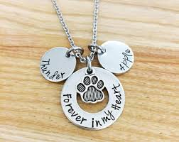 pet remembrance jewelry pet memorial jewelry etsy