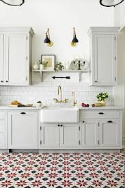kitchen with tile backsplash kitchen black floor tiles decorative tiles grey kitchen tiles