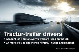 drivers bureau truck driver related injuries in overdrive u s department of