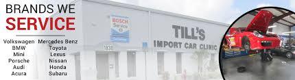 lexus port charlotte fl foreign auto repair in fort myers fl till u0027s import car clinic