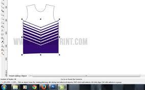 edit desain kaos online cara membuat desain baju kaos futsal gradasi warna garuda print
