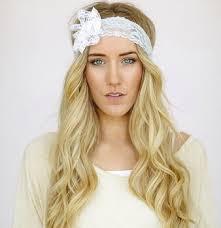 lace headband godbead mint lace headband with white lace flower southern