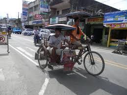 philippines pedicab the human condition