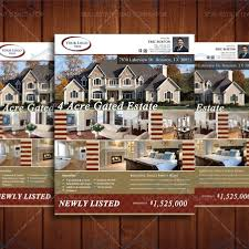 real estate listing brochure template 28 images 136 best