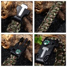 survival bracelet whistle images 5 in 1 survival paracord bracelet ab fab deals jpg