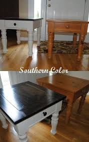 Best  Painted Coffee Tables Ideas On Pinterest Farm Style - Kitchen side tables