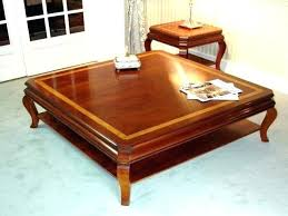 wood coffee table with storage square coffee table with storage rustic square coffee table with
