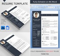 Microsoft Resume Templates For Word 20 Professional Ms Word Resume Templates With Simple Designs