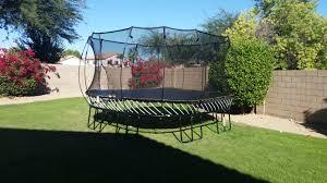 Trampoline Backyard Trampolines Arizona Backyard Company